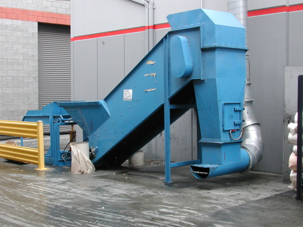 gravity conveyor for stairs